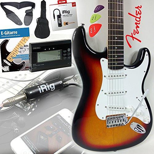 fender-squier-bullet-strat-guitare-electrique-dans-sunburst-irig-interface-pour-iphone-et-ipad-de-gu