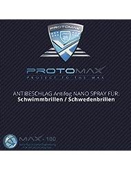 Proto Max Nano antiniebla Spray (antivaho) para Spray Sueco para gafas de natación/gafas, (20ml/100ml)