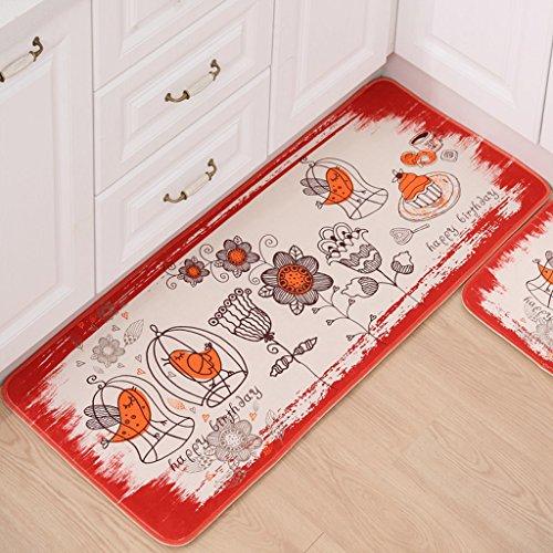 Soggiorno stuoie foyer d'ingresso a casa cucina bagno stuoia assorbente tappetini antiscivolo da letto stuoie striscia in pelle scamosciata Ottomani