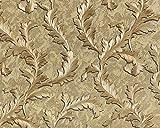 Blumen Tapete EDEM 9010-32 Vliestapete geprägt im Barock-Stil glänzend gold braun bronze 10,65 m2