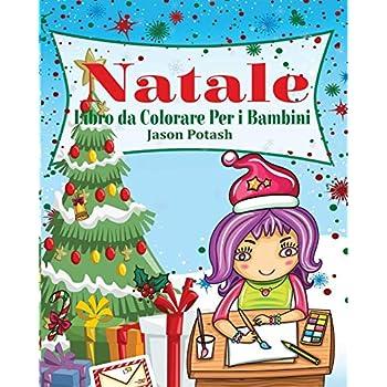 Natale Libro Da Colorare Per I Bambini