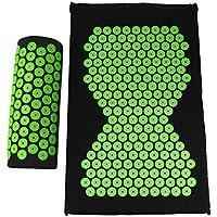 Sharplace Akupressur-Set inkl. Massagematte (66x40cm) & Entspannungs-Kopfkissen (38x14cm) | Entspannung & Lockerung... preisvergleich bei billige-tabletten.eu