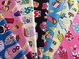 Eis Cupcake/Lollies/Pops Prints 7-teiliges * Fat Quarter