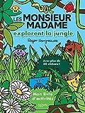 Les Monsieur Madame explorent la jungle : Mon livre d'activités - Avec plus de 60 stickers !