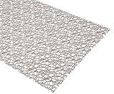 Beautex Netz Tischläufer Tischdecke Platzset Tischset Tischdeko, Größe und Farbe wählbar (Tischläufer 35 x 100 cm Stone)