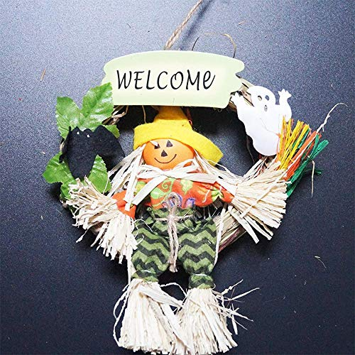 Lxj Halloween Shop Dekoration Klassenzimmer Ghost Festival Anhänger Türklopfer Assistenten Geist Willkommen