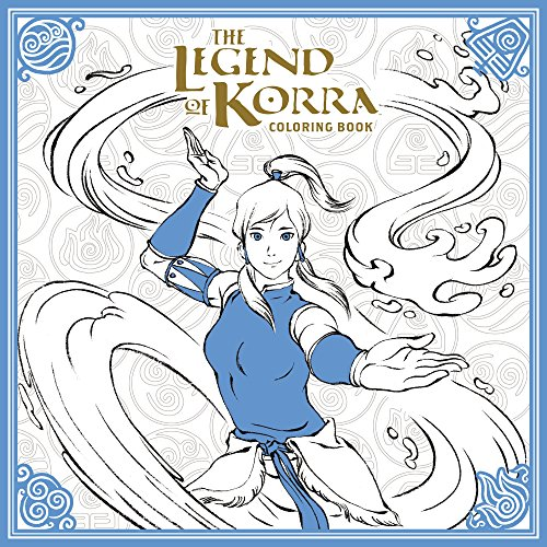 The Legend Of Korra Coloring Book (Colouring Books) por Nickelodeon