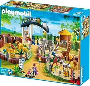 Playmobil - 4850 - Jeu de construction - Grand zoo
