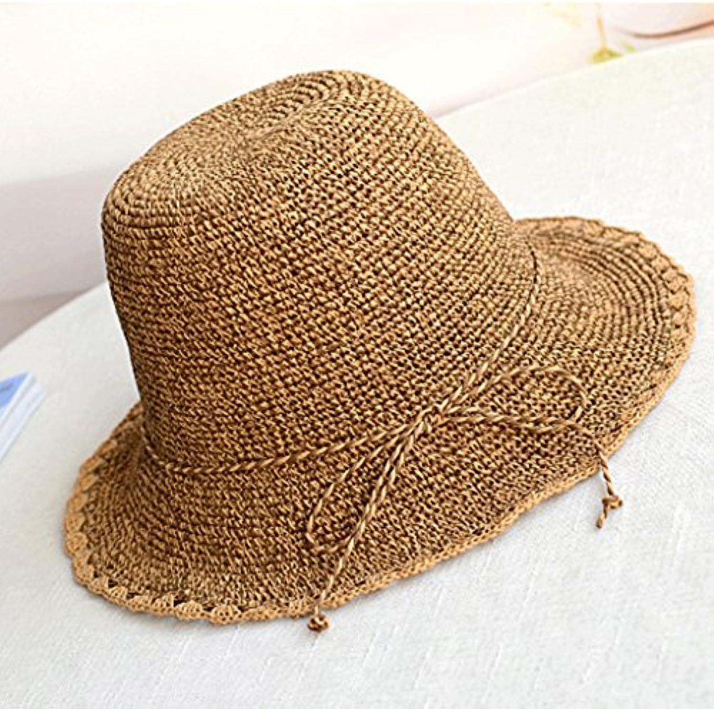 Hongyan Cappellino Pieghevole Cappello da Sole Cappello Estivo con  Cappuccio (Coloreee Estivo C) Parent 3308e7433d18