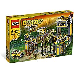 LEGO 5887 Dino - Cuartel general de defensa jurásica