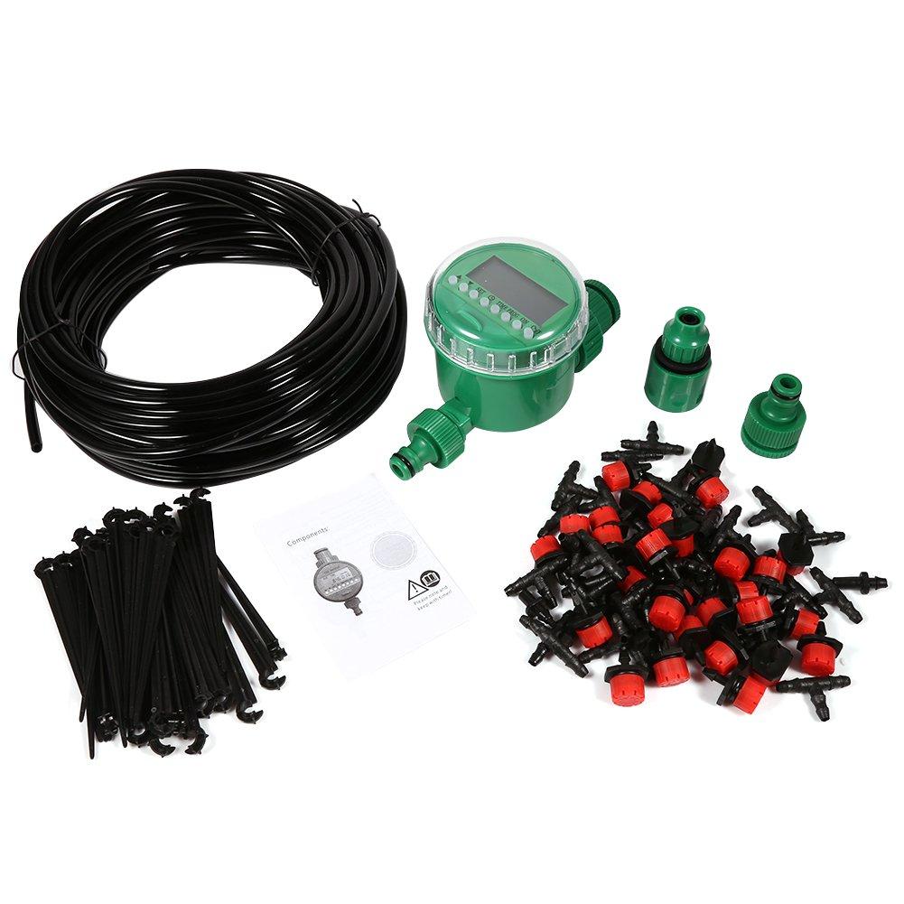 Zerodis Micro Drip Bewässerung Kit Schlauch Mikrotropfen DIY Bewässerungssystem Garten Automatisch Sprinkler…