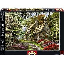 Puzzles Educa - La casa de las flores, puzzle de 2000 piezas (15536)