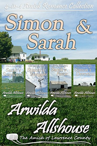 Amish Romance Simon And Sarah Collection 4 In 1 Book Boxed Set The Amish Of Lawrence County Pa Simon And