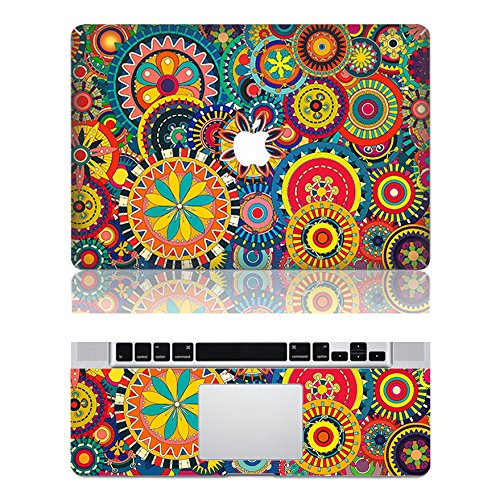 Vati fogli smontabili fortunato Runner protettiva copertura completa di arte del vinile Decal Sticker Cover per Apple MacBook Air 11,6