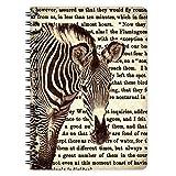 etmamu 443 Notizblock Zebra A6, 60 Blatt Punktraster