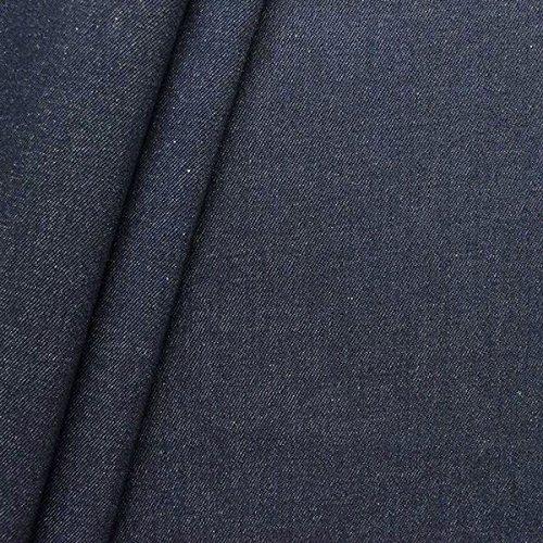 Qualität Baumwolle Stoff (100% Baumwolle Denim Jeans Stoff schwere Qualität Meterware Indigo-Blau)