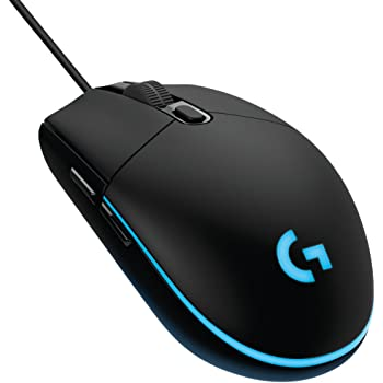 cc961f02ccc Logitech 910-004845 G203 Gaming Mouse, Optical 8000 DPI, 16.8 M Colour LED,  Customising Wired Gaming Mouse