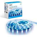 TP-Link Tapo L900-5 Smart LED Strip 5M, WiFi LED Stripe, 16 miljoen kleuren, dimbare APP bediening, snijbaar, compatibel met