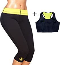 Sweet Sweat Waist Trimmer Women's Shapewear Slimming Pant and Sweat Top