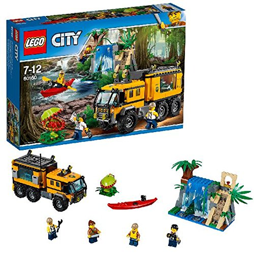 LEGO City In/Out 2017 - Jungla: Laboratorio móvil (60160)