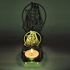 M.G.R.J Radha Krishna Ji Shadow Lamps tealight candle holder stand for Pooja and Decorative