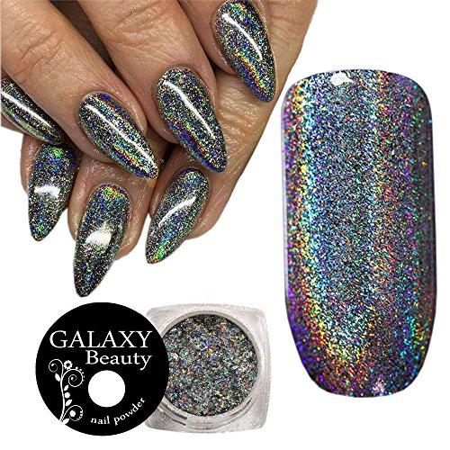Holo Holografisches Galaxy Rainbow Einhorn Nail Art Pailletten Flake Farbwechsel Puder