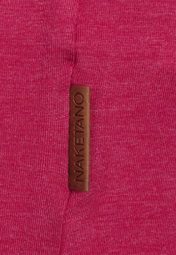 Naketano Die Gedudelte III W T-shirt Raspberry Melange