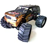 SSBH Super-large Petrol Car, Fuel Methanol Remote Control Car, 1/8 Petrol-powered High-speed Drift Model Car, 4WD Bigfoot Off