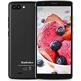 Blackview A20 Smartphone, (13.96 cm 5.5 Zoll Full HD), Android GO Handy Ohne Vertrag, 8GB Speicher (TF 32GB), 5 MP Kamera, 3000mAh Akku - Schwarz