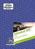 AVERY Zweckform 1222 Fahrtenbuch (für PKW, vom Finanzamt anerkannt, A5, Recycling-Papier, 64 Seiten insgesamt 682 Fahrten für Deutschland und Österreich zur Abgrenzung privater/geschäftlicher Fahrten)