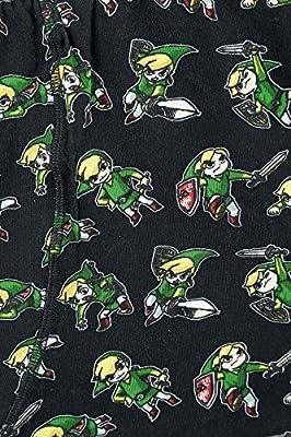 Nintendo The Legend Of Zelda - Link Boxershort noir/vert