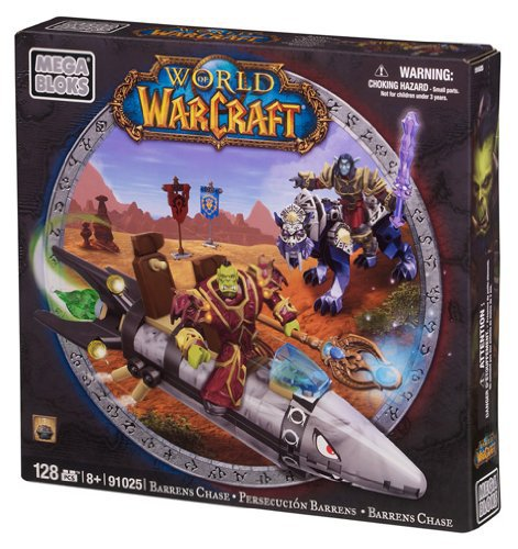 Preisvergleich Produktbild Mega Bloks 91025 - World Of Warcraft - Barren Lands Chase