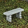 """Fiddlehead Fairy Garden """"Steinbank""""-Miniatur dekorativ für Feen, Elfen, Hobbits, und Trolle von Fiddlehead bei Du und dein Garten"""