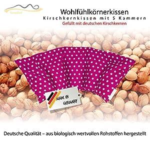 Großes Kirschkernkissen/Entspannungskissen zur Wärmebehandlung – Heizkissen für Mikrowelle (Wärmekissen)//langes Relaxkissen//Zur Wärme- oder Kältetherapie/in 18 Farben!