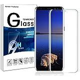 Pomisty Galaxy S8 Panzerglas Schutzfolie,Samsung Galaxy S8 Displayschutzfolie Vollständige Abdeckung 3D Anti-Kratzen 9H Displayschutz Gehärtetem Glasfolie Für Samsung Galxy S8