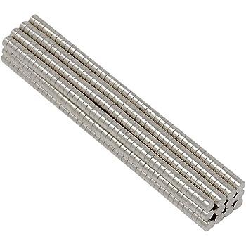 100 STÜCK 10x5 mm NEODYM SCHEIBEN MAGNET MIT 3.4mm BOHRUNG UND SENKUNG WERKSTATT