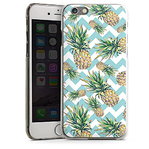 Apple iPhone 5s Housse Outdoor Étui militaire Coque Ananas Motif Motif CasDur transparent