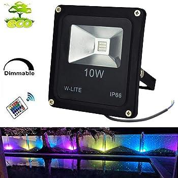 10w Led Rgb Flood Lights Goodia Colour Changing Led Security Light