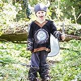 Enfants nordique viking Guerrier Costume historique culturel Costume Taille 6à 8ans