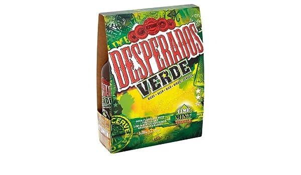 Desperados Verde Lime Mint Tequila Beer 3 X 330ml Amazon Co Uk Grocery
