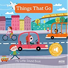 My Little Sound Book: Things That Go (My Little Sound Books)