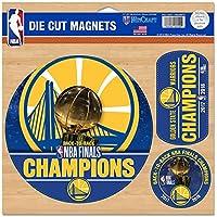Wincraft NBA Golden State Warriors 2018 Champions Magnet Set