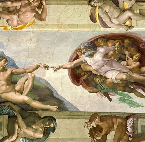 Puzzle 1500 pièces - Michel Ange : : : La Création d'Adam de la Chapelle Sixtine, 1508-1512 B010467430 4d4983