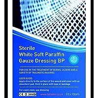 Paraffin Gauze Dressing - 10cm x 10cm (x5) preisvergleich bei billige-tabletten.eu