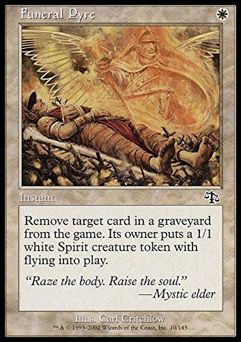 Magic: the Gathering - Funeral Pyre - Pira Funebre - Judgment
