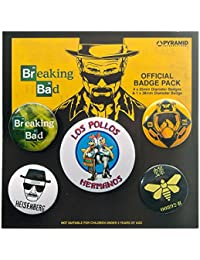 Pack De Badges / Pins Breaking Bad Los Pollos