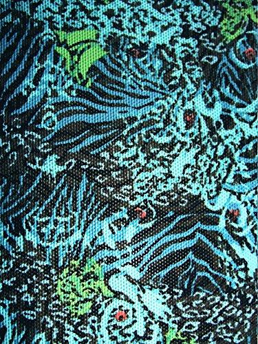 Solar Tan Thru Bügel-Bikini 8601655-52 türkis/blau/schwarz, B-Cup oder C-Cup türkis/blau/schwarz