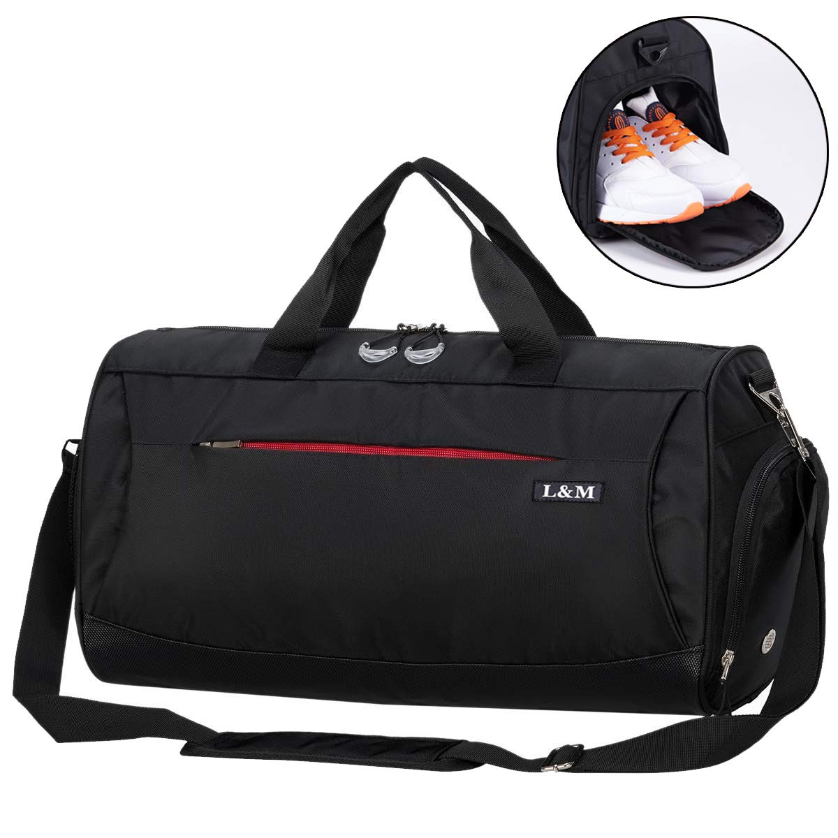 f6733536d562 CoCoMall Sports Gym Bag with Shoes Compartment and Wet Pocket ...