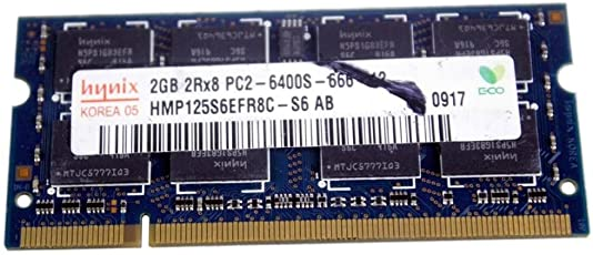 Hynix 2GB DDR2 RAM PC2-6400 200-Pin Laptop SODIMM Major 3rd