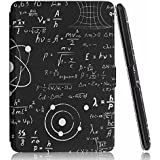 Kindle Paperwhite Case. Premium SmartShell Lightest Thinnest Protective PU Leather Case With (Auto Wake/Sleep) Folio Flip Case Flip Cover For Amazon Kindle Paperwhite 2012 , 2013 , 2014 And 2015 New 300 PPI Flip Cover Flip Case (Formula)